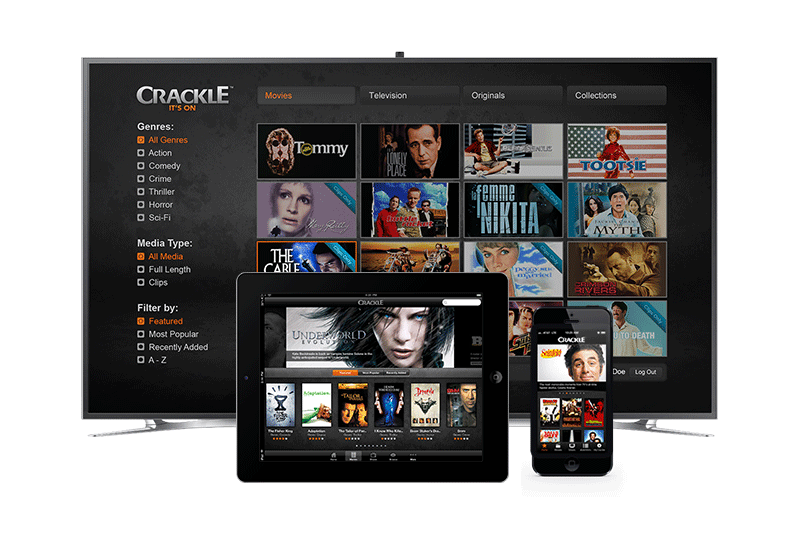 Sony Crackle Platform 1
