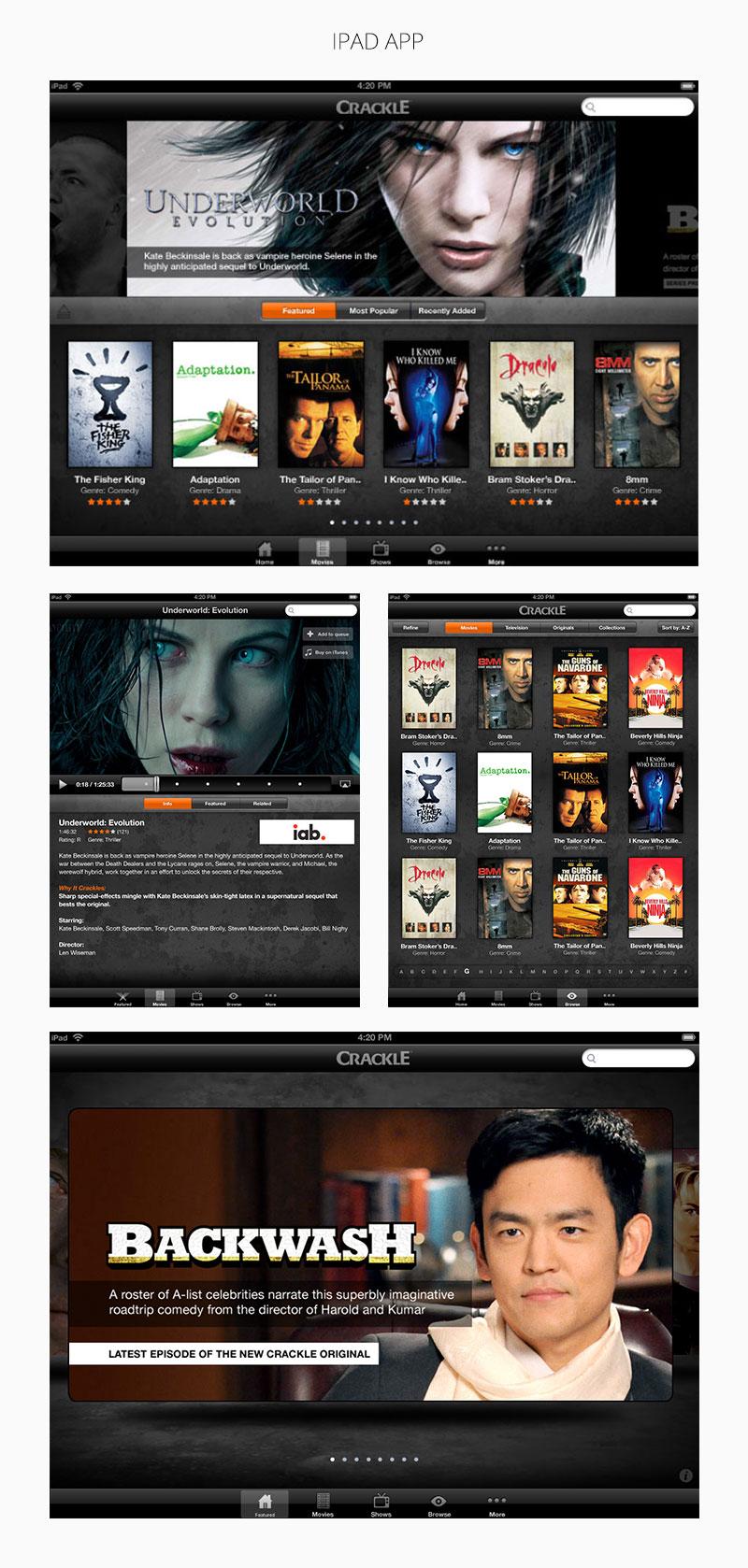 Sony Crackle Platform 5